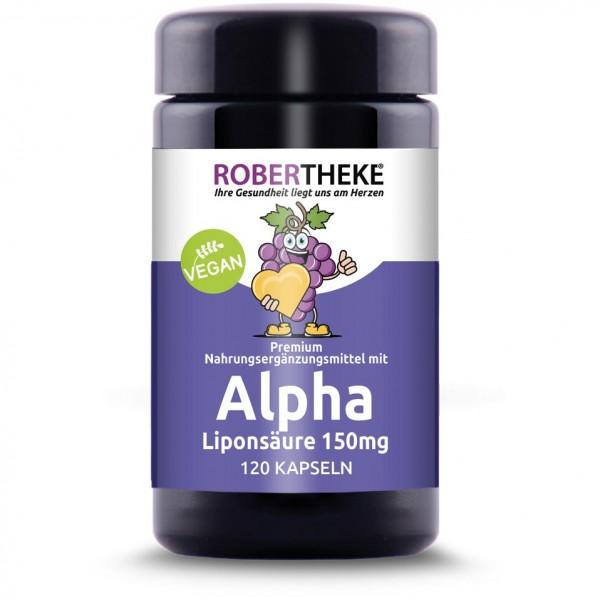 Alpha Liponsäure 150mg Vegan | 120 Kapseln
