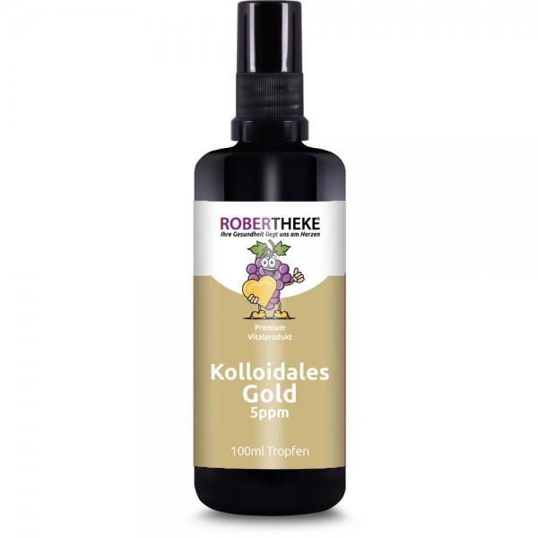 Kolloidales Gold 100ml | 5ppm