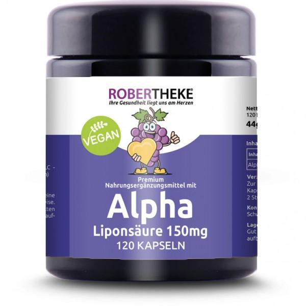Alpha Liponsäure 150mg Vegan   120 Kapseln