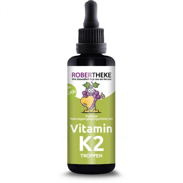 Vitamin K2 Tropfen Vegan - 50ml   Robertheke