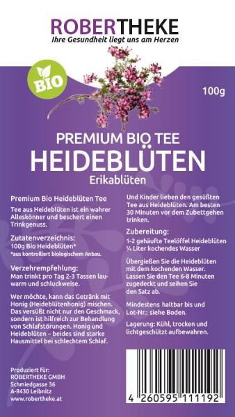 Heideblüten Tee Bio | Robertheke