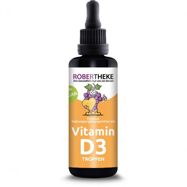 Vitamin D3 Tropfen Vegan - 50ml | Robertheke