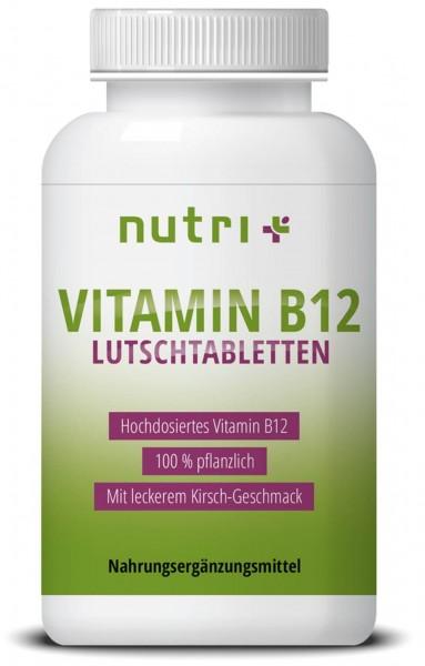 Vitamin B12 Lutschtabletten | Vegan 1.300mcg | 100 Tabletten