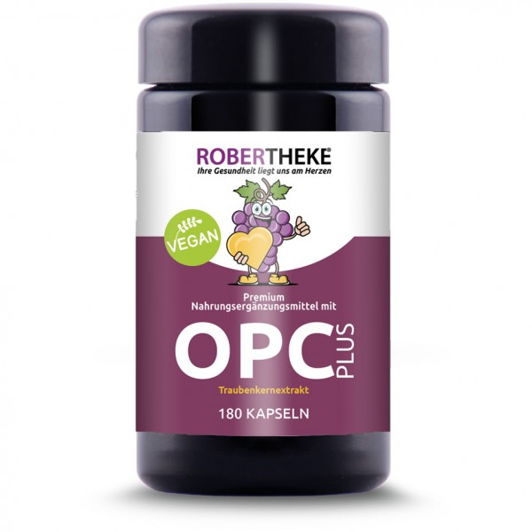 OPC Traubenkernextrakt PLUS | 180 Kapseln Großpackung
