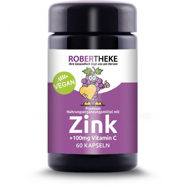 Zink 30mg & 100mg Vitamin C 60 Kapseln
